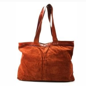 MONDI Suede Leather Extra Large Tote